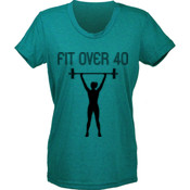 Women's T-Shirt: Fit Over 40 Jersey